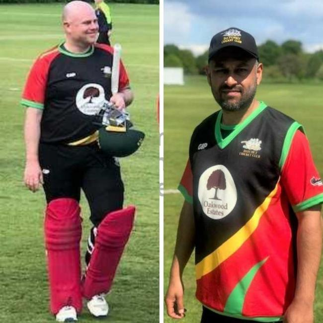 Datchet captain Steven Naylor, left, took 3-45 from 10 overs, before Zaheer Sher, right, made 46 runs from 96 balls in the draw with Henley on Saturday.
