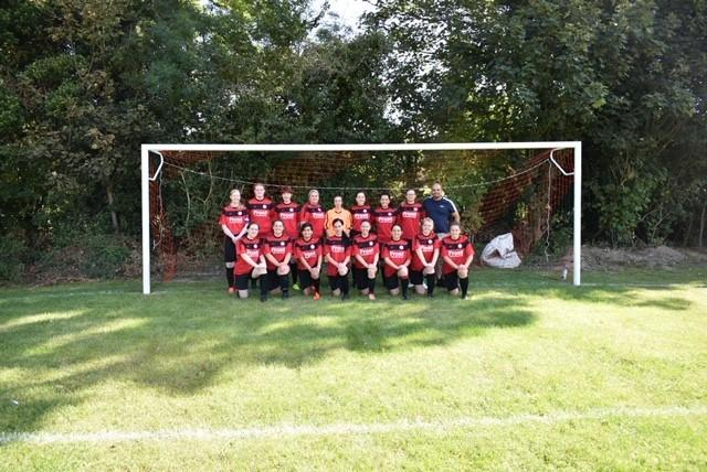 The newly-formed Wraysbury ladies team beat Great Linford 3-2 thanks to a hat-trick from Sarah Blight in their first-ever match.