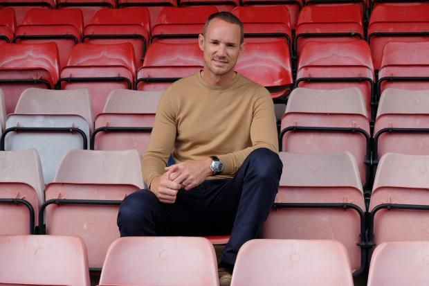 "Windsor manager Mark Cooper: ""After 18 games gone, we knew that we were happy with the squad. We had 22 points after the first 18 games and obviously in the back 18 we want to improve on that. We still believe we can very much improve upon the first"