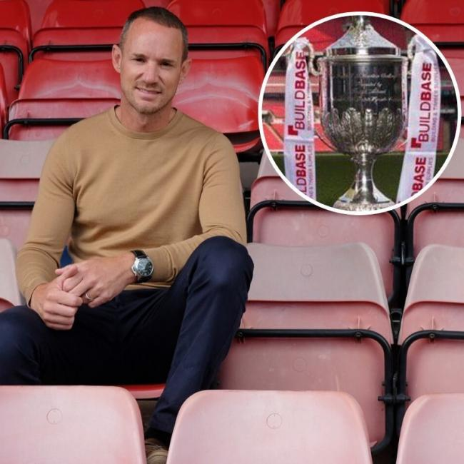"Windsor manager Mark Cooper: ""It's another big game for us and we will certainly take it very seriously. We will look to be as strong as we can for it, as we do every week."""