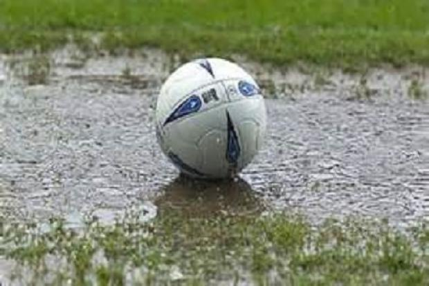 The Hellenic League suffered an almost complete washout as Storm Dennis swept wind and rain across the country on Saturday.