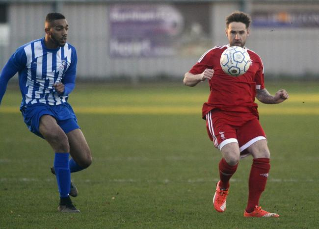 Cheyenne Cripps made an instant impact as a substitute for FC Bentons in the 3-2 win against Singh Sabha in the Berks & Bucks Intermediate Sunday Cup.