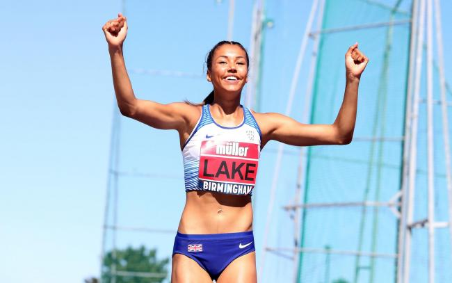 Morgan Lake is ranked number one in the United Kingdom in the senior ladies high jump with a clearance of 1.97m. PHOTO: PA/Wire.