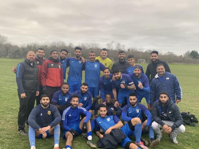 Singh Sabha have reached the Maidenhead Norfolkian Senior Cup final for the second season in a row after a 2-1 win against KS Gryf on Saturday.