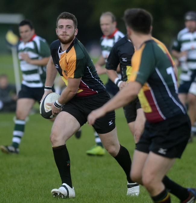 Windsor star Adam Bailes scored a try in the 36-31 win at Trowbridge in the South West One East on Saturday.