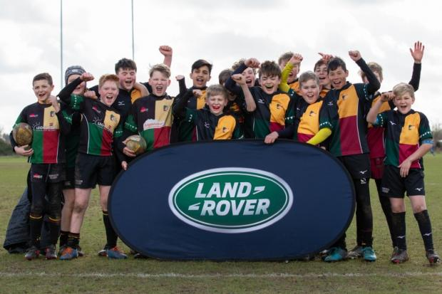 Junior stars from Windsor Under 12s are continuing to make waves in youth rugby thanks to their performance at this weekend's Land Rover Premiership Rugby Cup.
