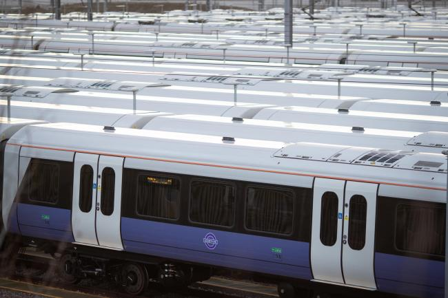 File photo of Crossrail trains