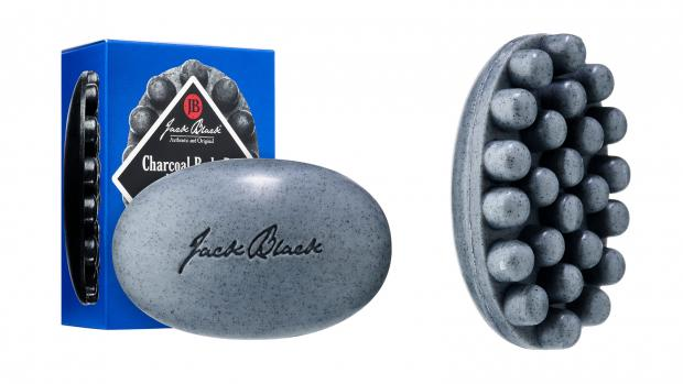 Royal Borough Observer: Exfoliate your body with the Jack Black Charcoal Body Bar Massaging Soap. Credit: Jack Black