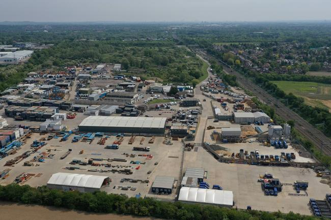 The Thorney Lane Business Park site