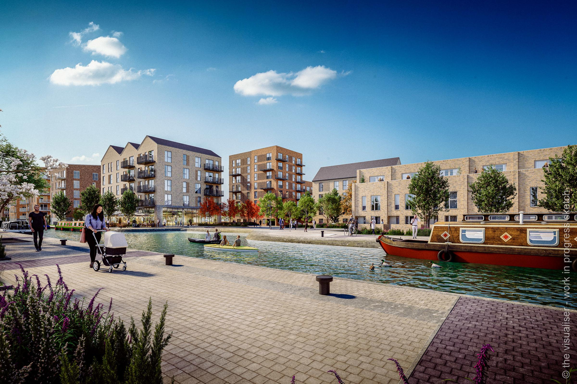 How Stoke Wharf could soon look if scheme gets approval