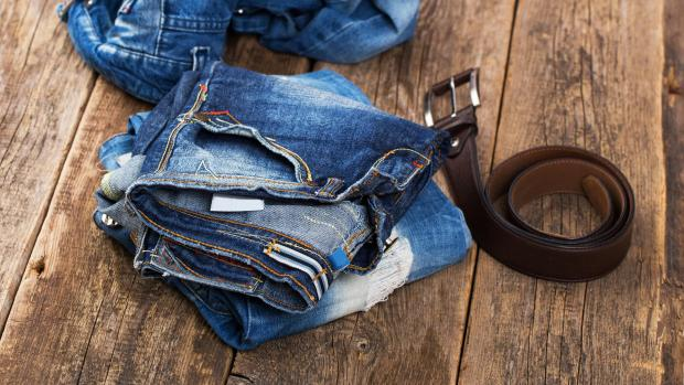 Royal Borough Observer: A good pair of jeans doesn't need to be washed very often, but if they start to smell or feel loose and slouchy, it might be time to clean them. Credit: Getty Images / kozyrskyi