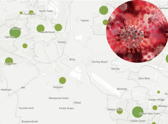 ONS map shows location of every coronavirus death in Windsor and Maidenhead