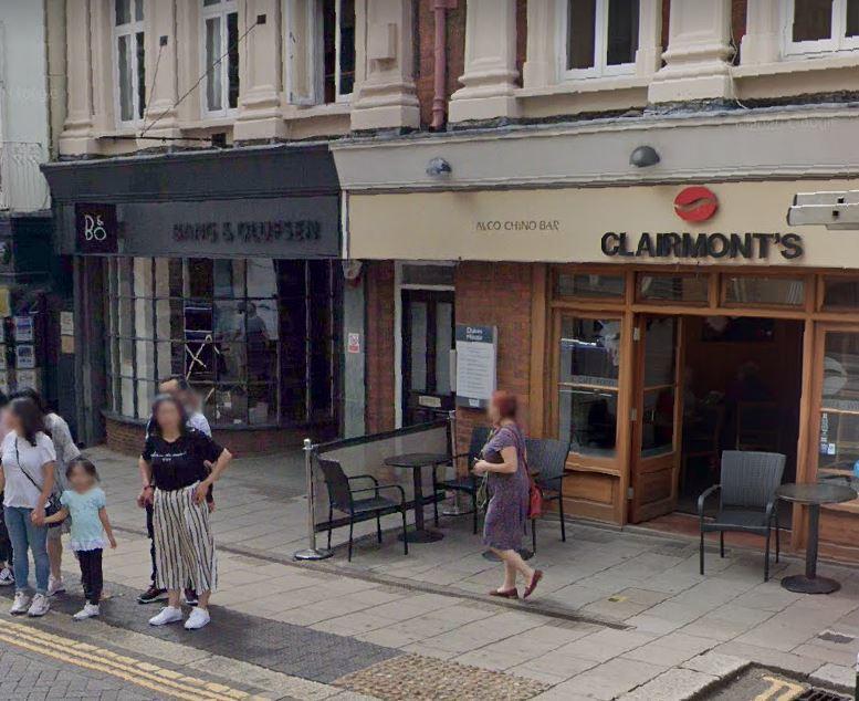 Clairmonts Coffee.