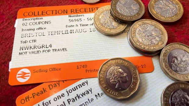 Royal Borough Observer: Rail ticket stock images. (PA)