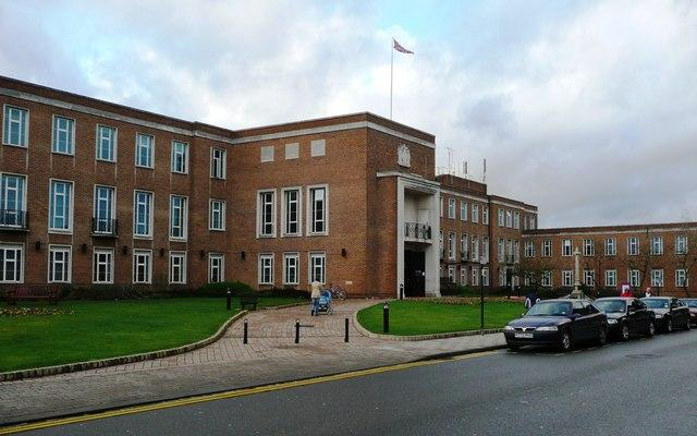 Maidenhead Town Hall - where the new school budgeting scheme was hatched