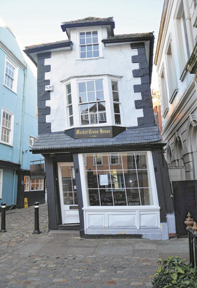 The Crooked House is up for sale