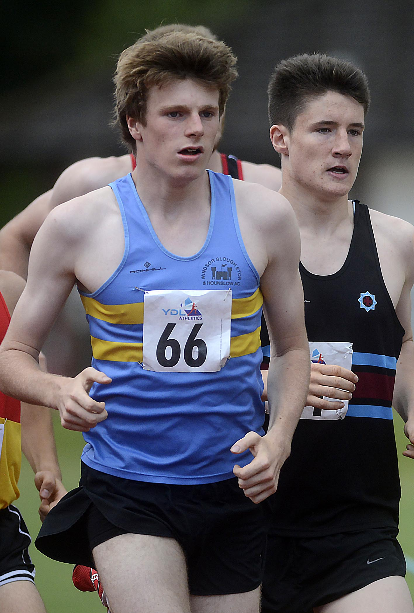 WSEH Athletics Club star Jack Goddard (66) won a gold medal in the Under-20 race at the Berkshire Cross Country Championships in Maidenhead.