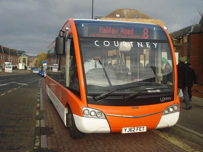 The number 8 bus service is one of a few that has an uncertain future
