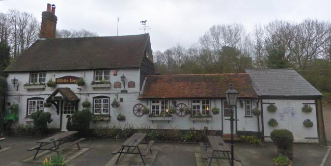 The White Horse in Hedgerley won the CAMRA branch pub of the year 2017
