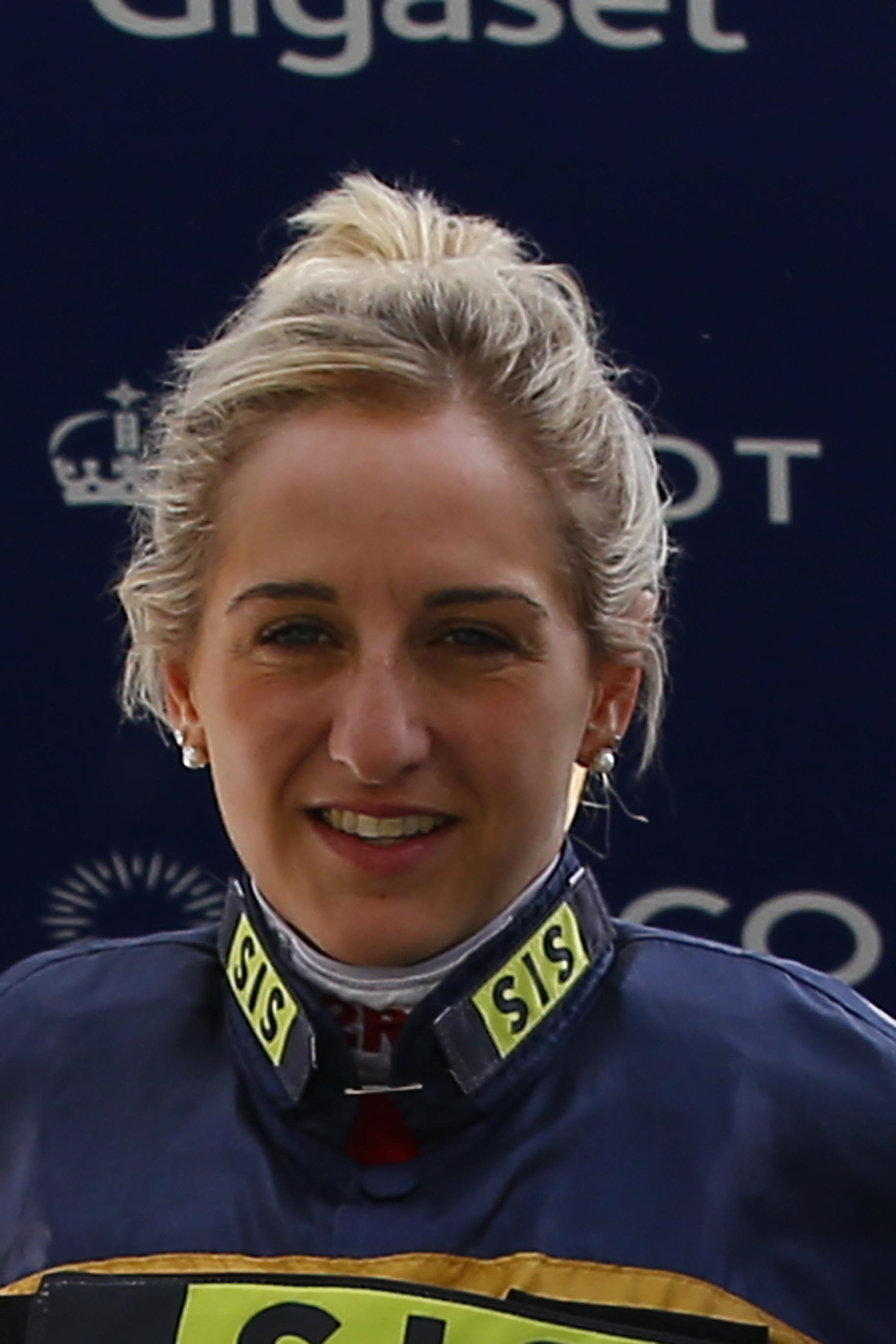 Josephine Gordon will ride Dream Castle in the Jersey Stakes. Picture: Sue Orpwood.