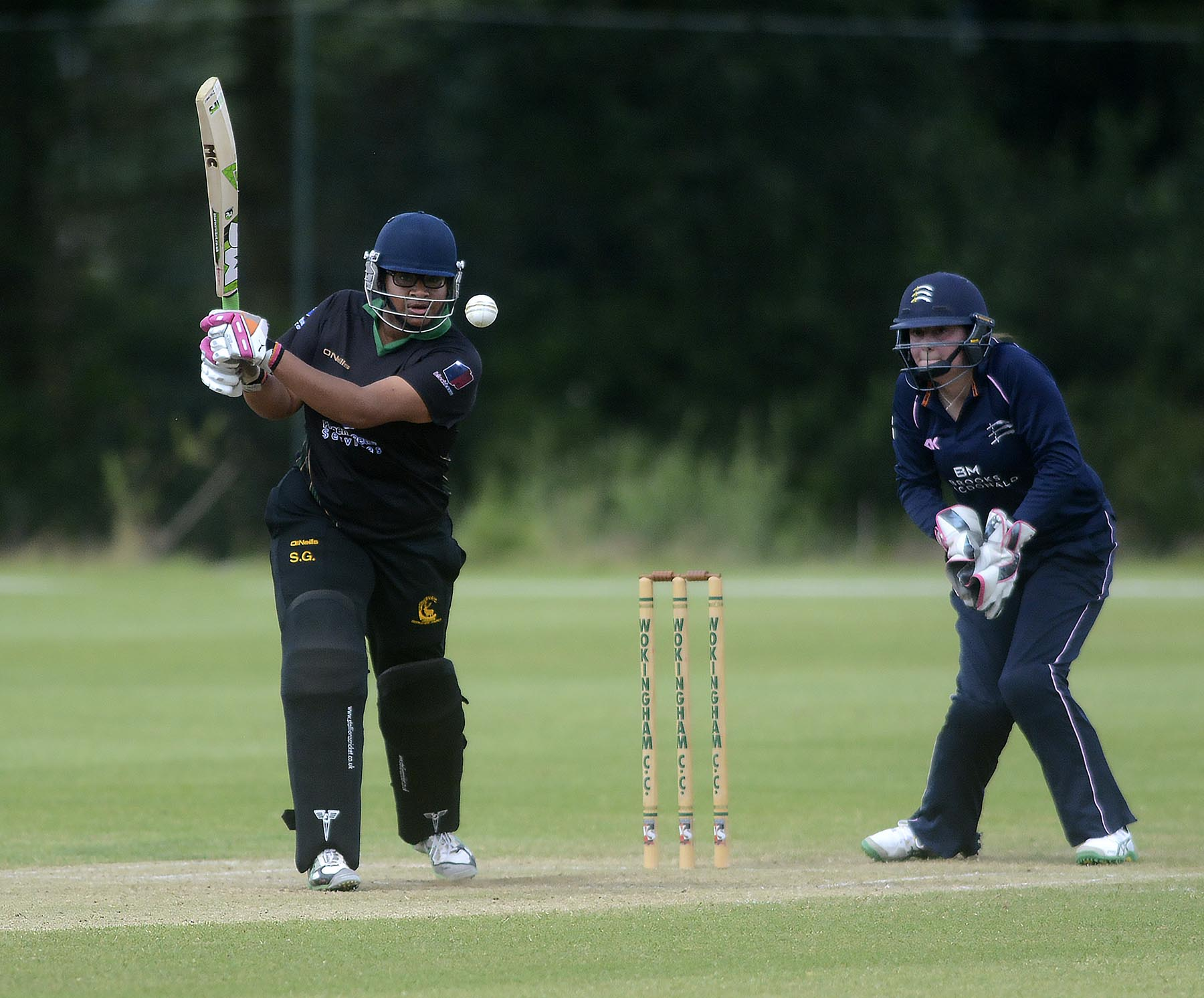 Sherisa Gumbs top scored with eight as Berkshire Women were thrashed by Birmingham Bears