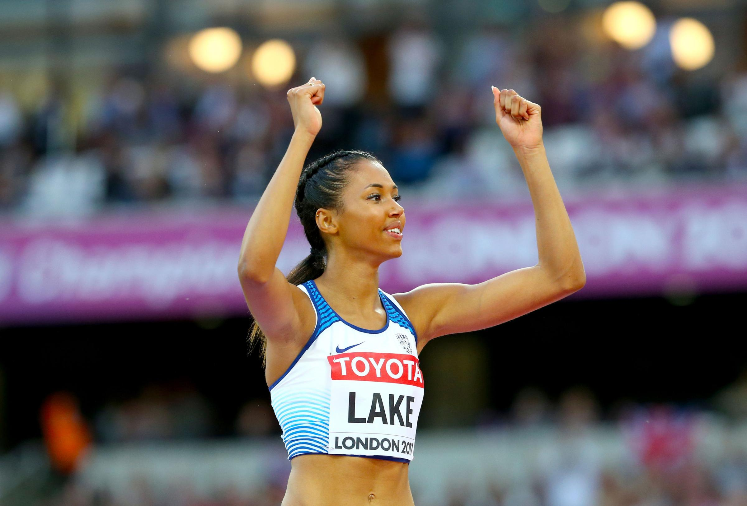 Morgan Lake believes she has taken a big step forward after finishing sixth in the high jump final on Saturday. PHOTO: PA/Wire.