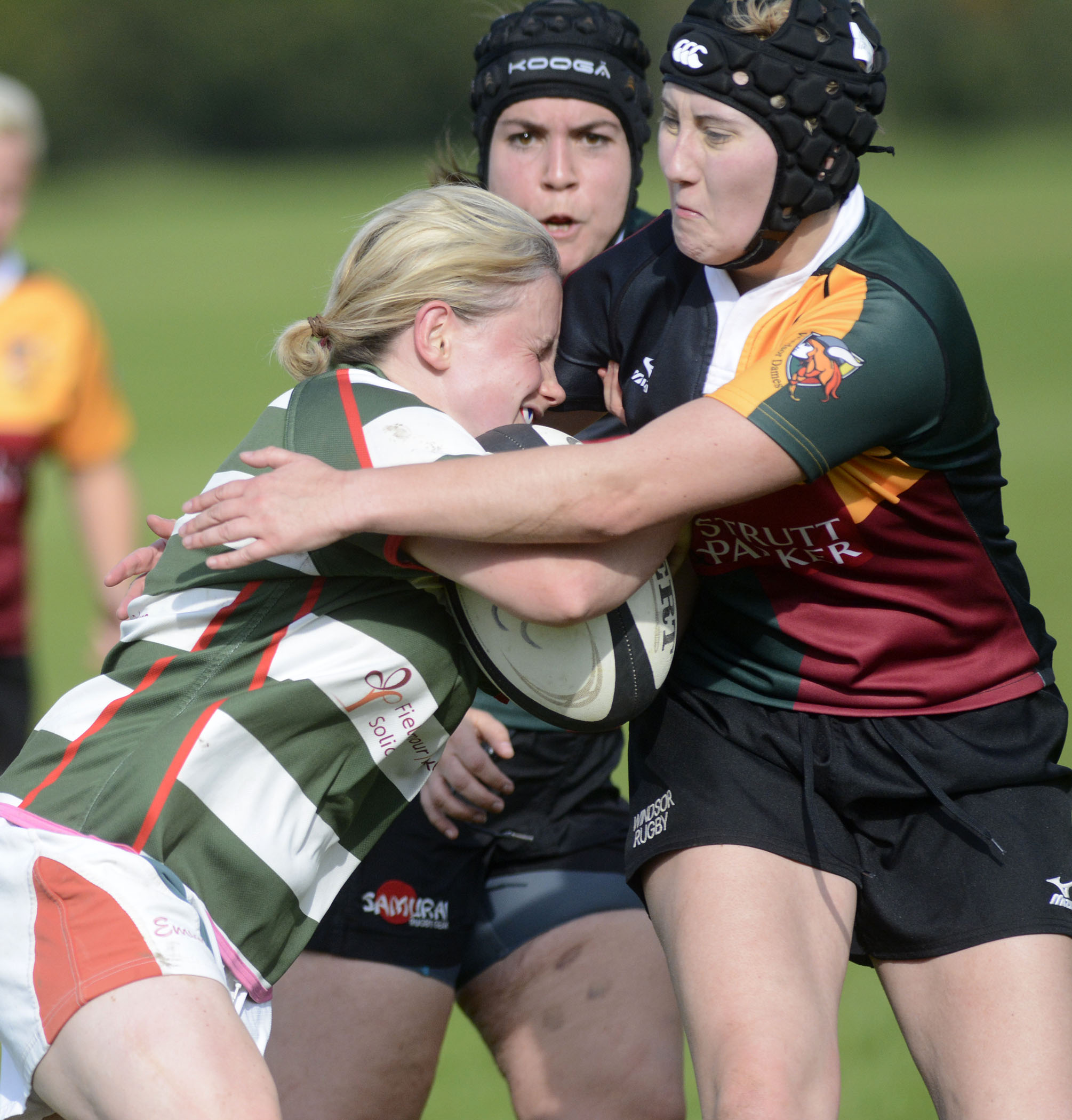 Windsor Dames have maintained their perfect start to the new season with a 20-18 win against Reading (hoops) on Sunday.