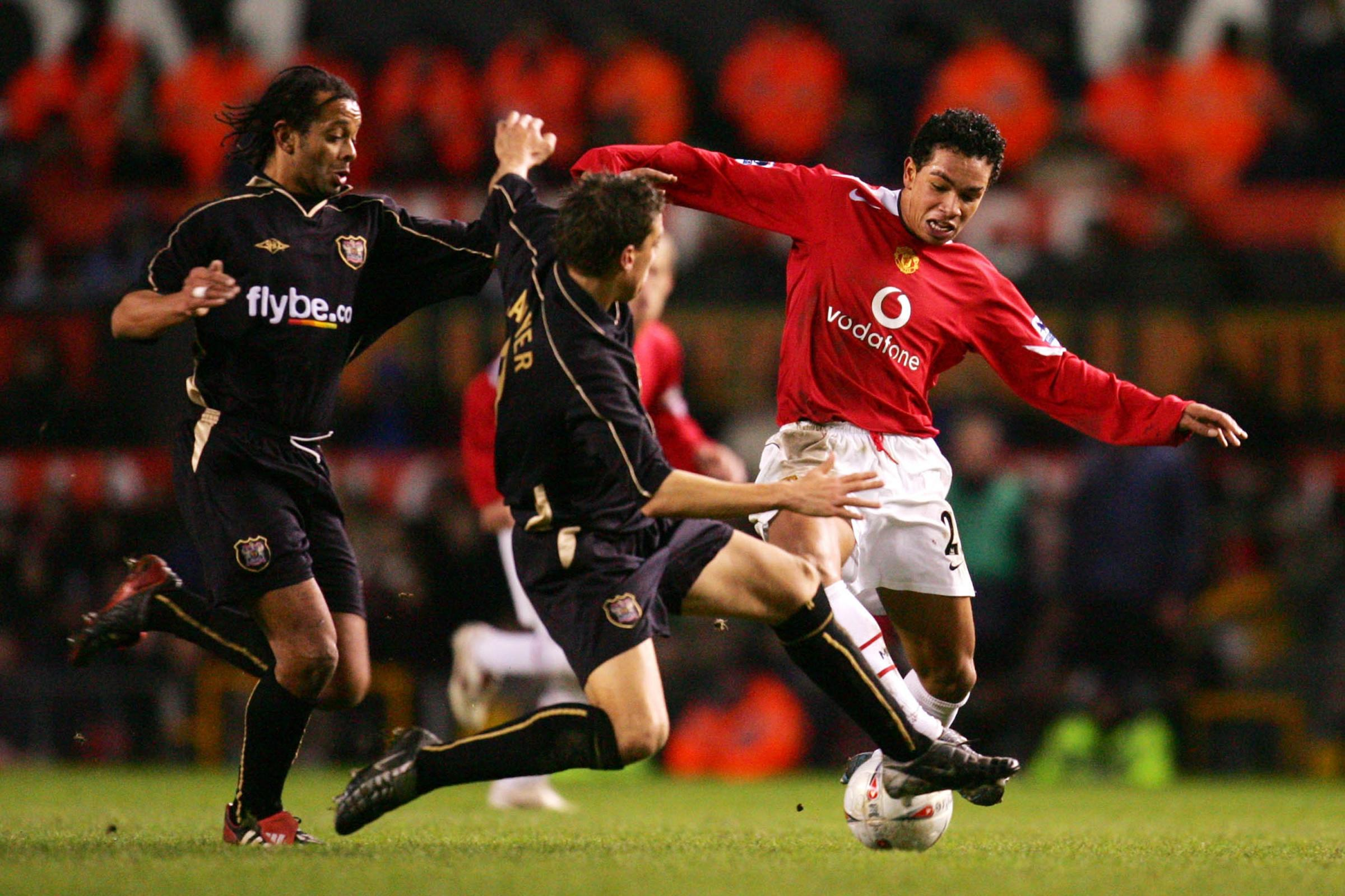The last time Manchester United's FA Cup third round tie was not on live TV was in 2005 against Exeter (Matthew Ashton/EMPICS Sport)