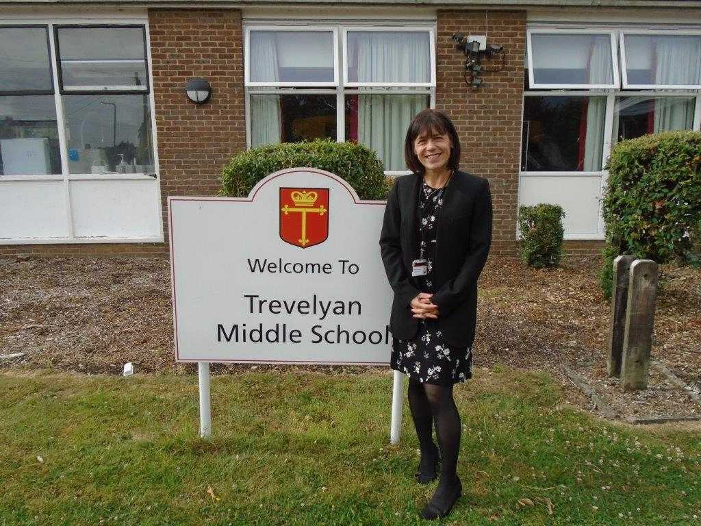 Nicola Chandler, the head of Trevelyan Middle School