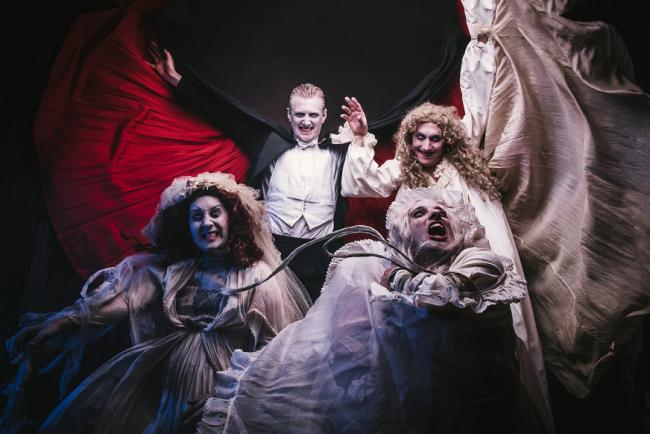 'Dracula: The Bloody Truth', now on at the Theatre Royal, Windsor