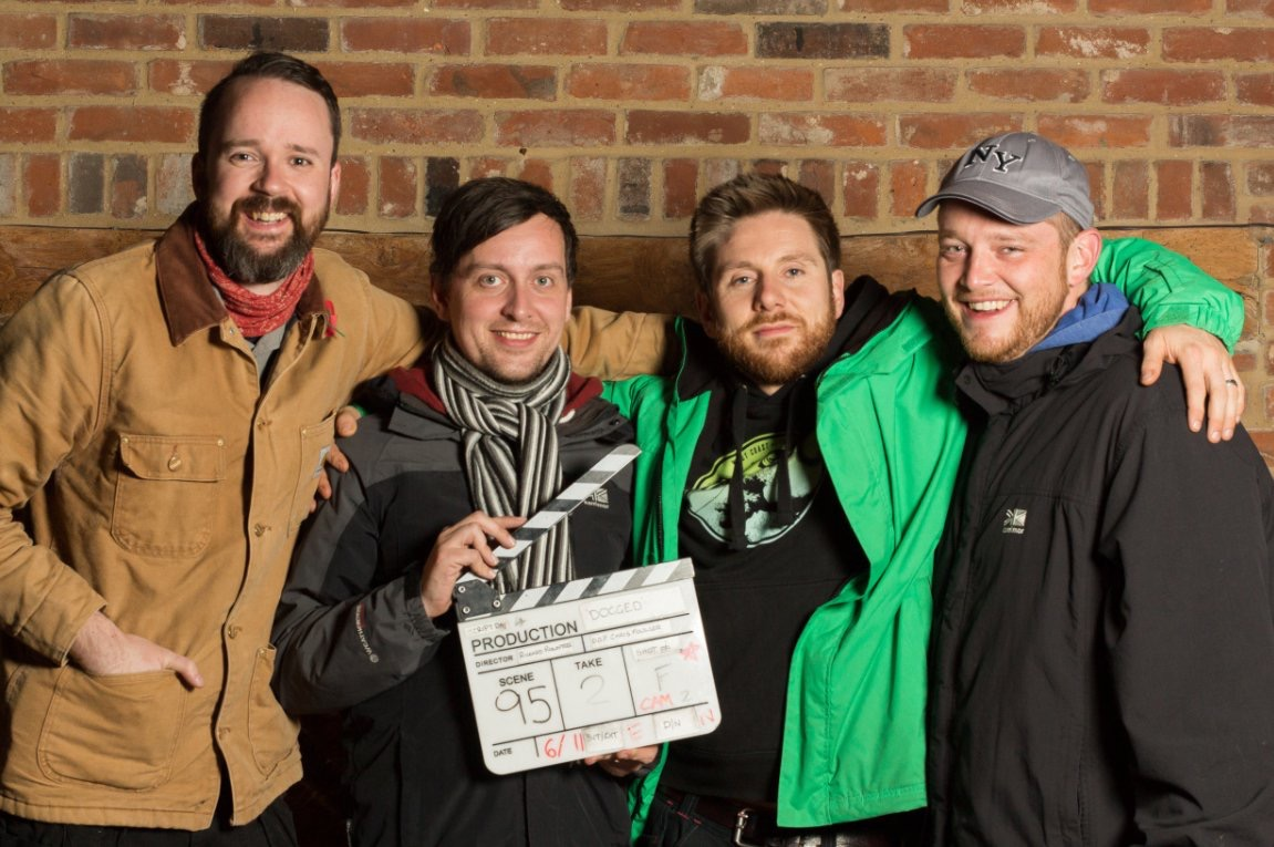 Matt Davies - the writer, from Langley, Lee Wignall, the editor from Slough, Chris Foulson, the cinematographer from Windsor and Mr Rowntree