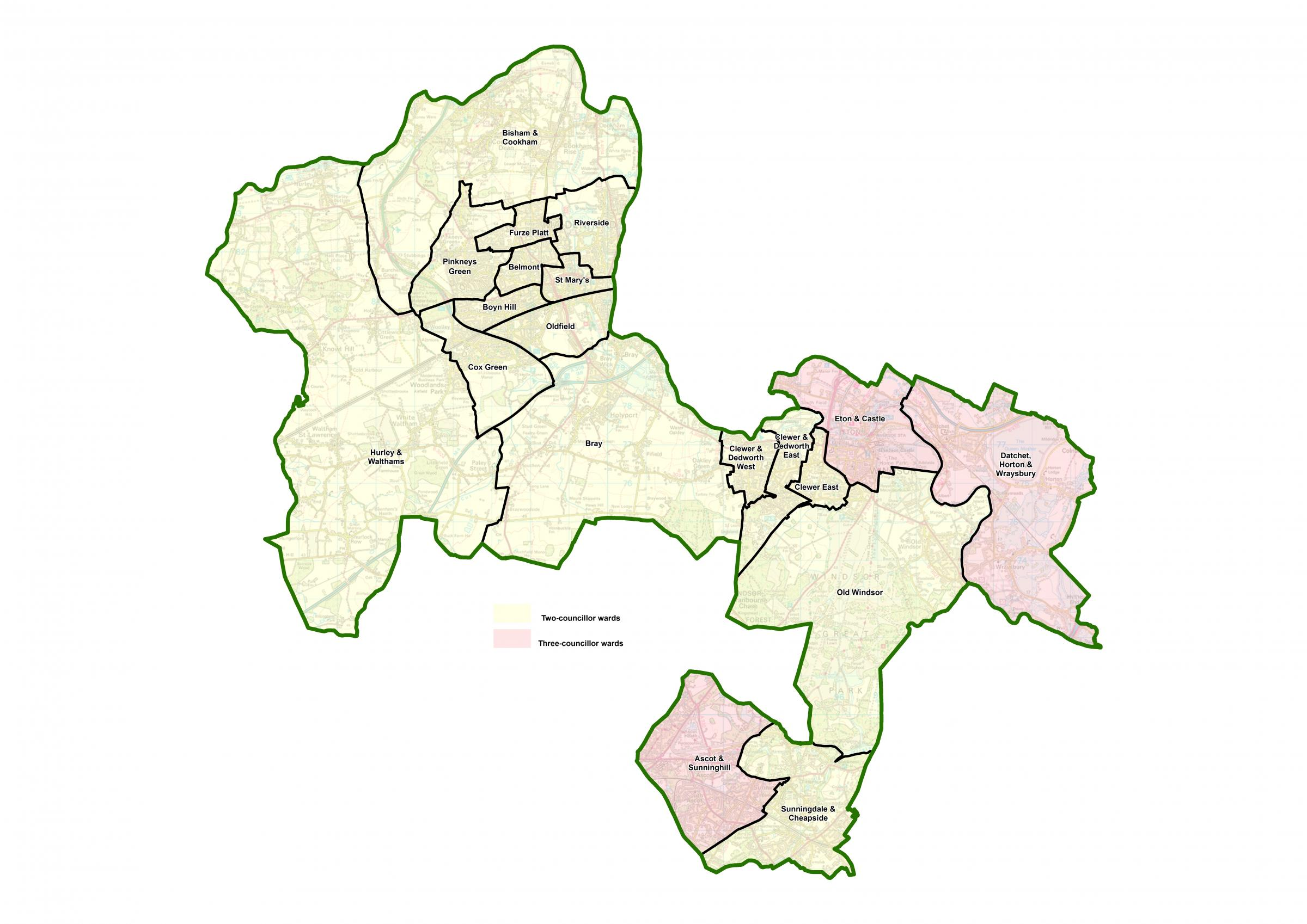 Final details of Royal Borough boundary changes announced