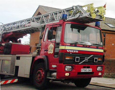Three storey house badly damaged by fire in Windsor