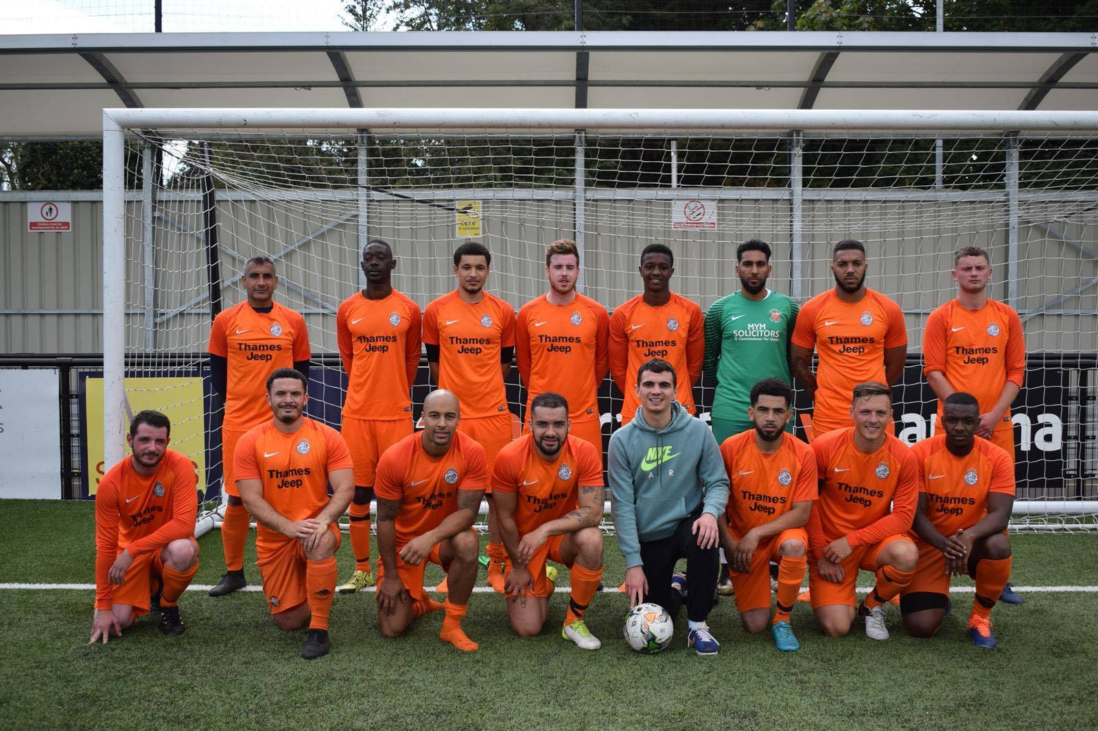 Real Milan suffered an 8-1 defeat away at Langley Galaxy in Division One of the Thames Valley Sunday League.
