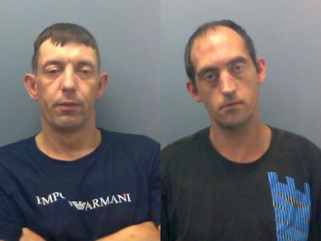 Francis and Hayes have been jailed