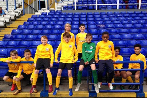 The Slough Schools FA Under-11 District team enjoyed the experience of playing in the National Finals at Birmingham City.